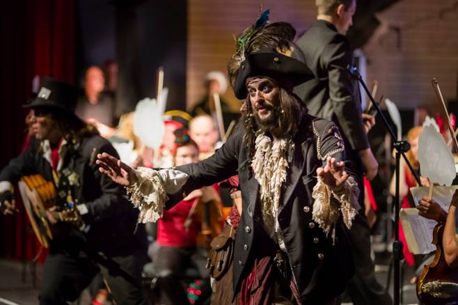 Captain Fetus McBoyle Pirate Show