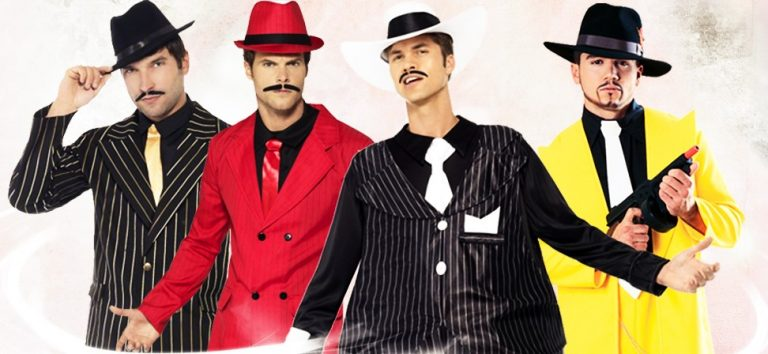 Gangster party costume ideas for guys