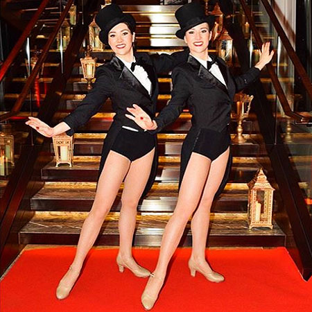 Cabaret Dancers for Hollywood theme party