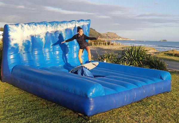 Beach Party Mechanical Surfboard